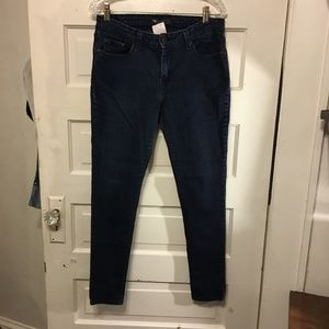 Levi's 535 Legging 15 M Dark Wash Factory Distress